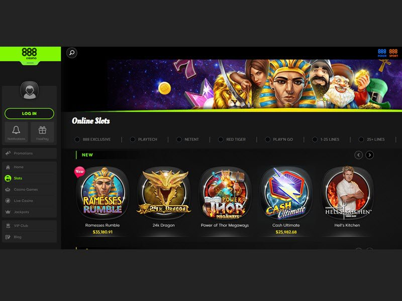 Casino 888 website