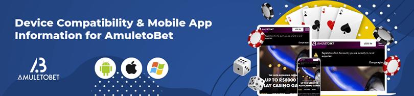 AmuletoBet Casino Device Compatibility