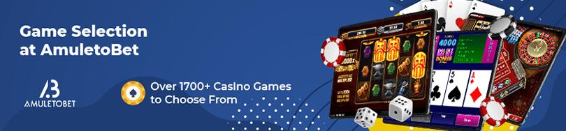 AmuletoBet Casino Game Selection