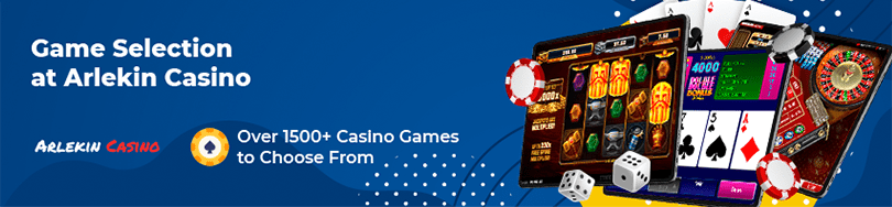 Arlekin Casino Game Selection