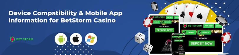 Betstorm Casino Mobile Play