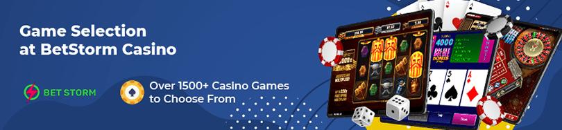 Betstorm Casino Games