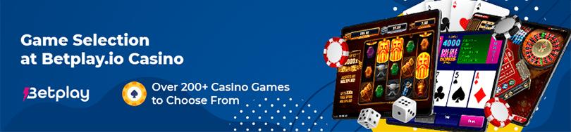 Betplay.io Casino Game Selection