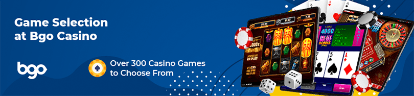 Bgo Casino Game Selection