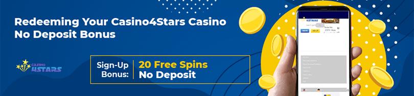Casino 4 Stars Casino Bonus Code Offers