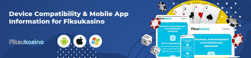 Fiksukasino Casino Mobile Compatibility