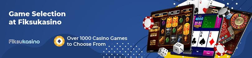Fiksukasino Casino Game Titles
