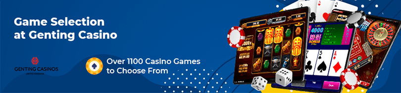 Genting Casino Game Selection