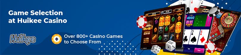 Huikee Casino Game Selection