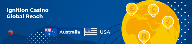 Ignition Casino for Australian and USA players