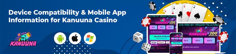 Kanuuna Casino Mobile App Compatibility