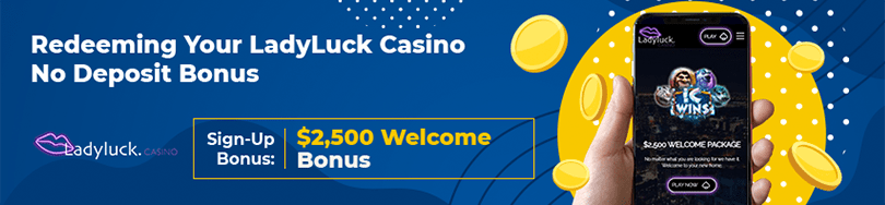 Ladyluck Casino No Deposit Bonus
