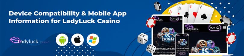 Ladyluck Casino Mobile App
