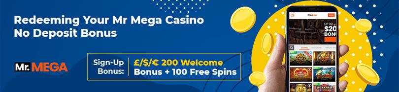 Mr Mega Casino bonus