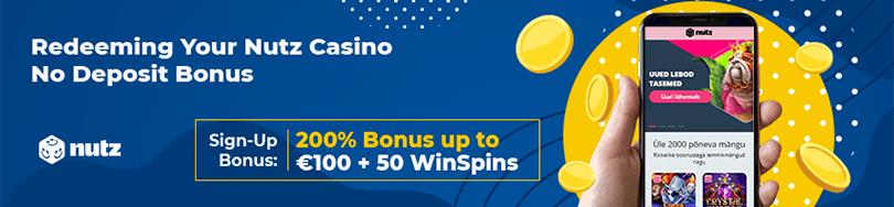 Nutz Casino Bonus