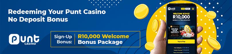 Punt Casino Bonuses