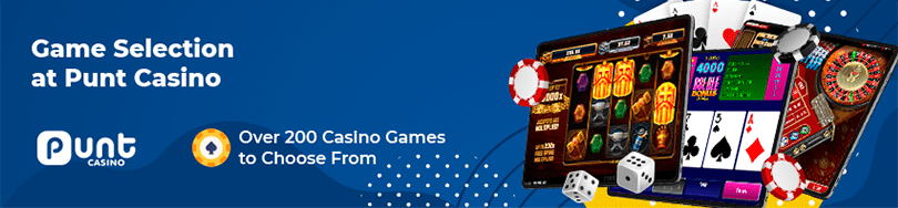 Punt Casino Game Selection