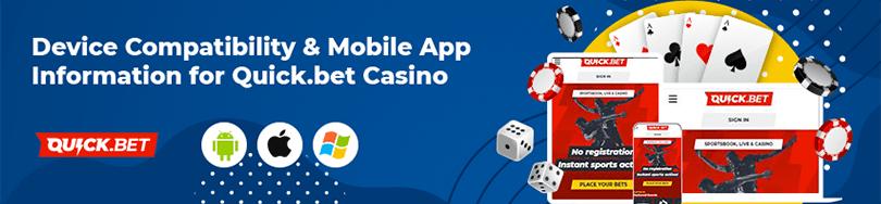 Quick.bet Online Casino Mobile App