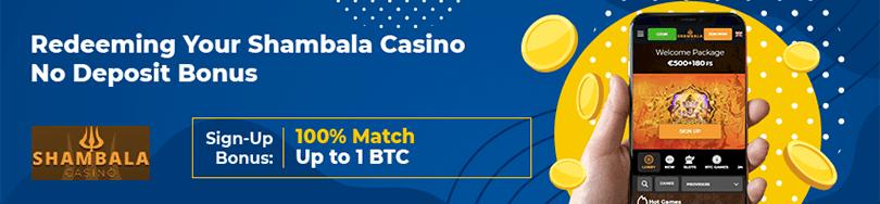 Shambala Casino Bonus