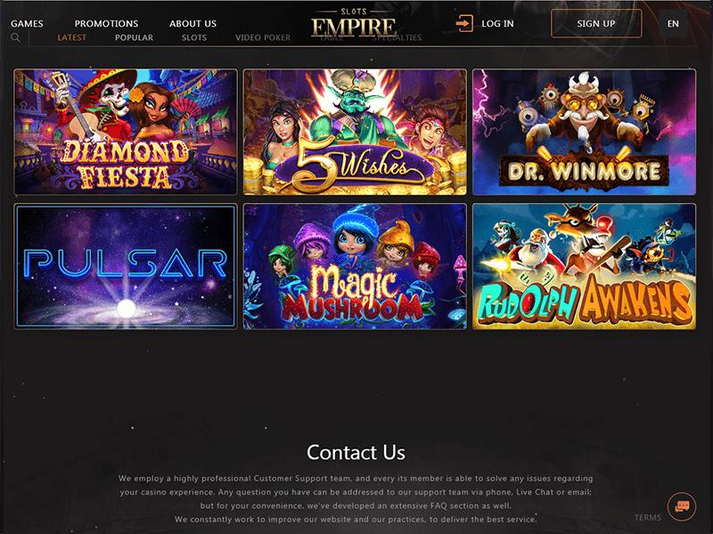 Casino Slots Empire software