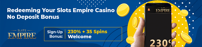 Slots Empire Casino Bonus