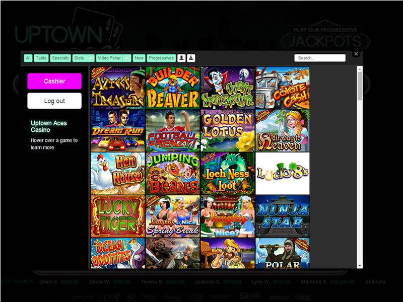 Up Town Aces software