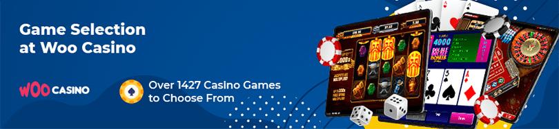 Woo Casino Game Selection