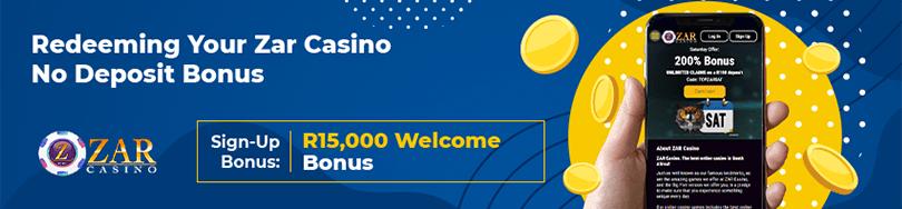 Zar Casino Bonus