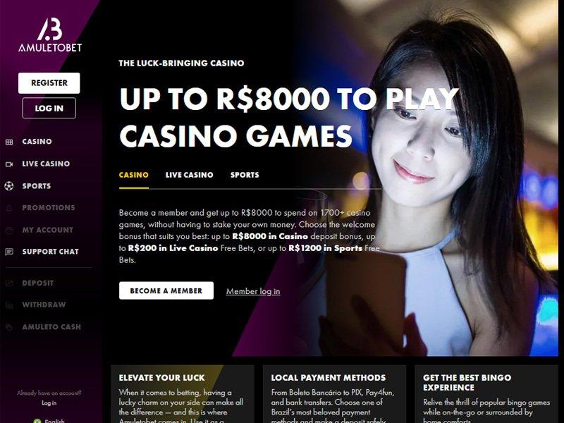 AmuletoBet website