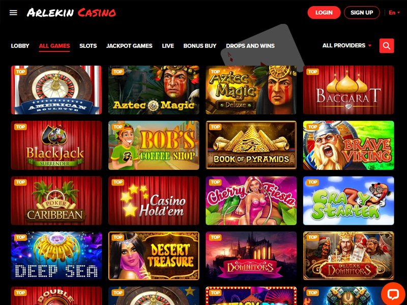 Casino Arlekin software