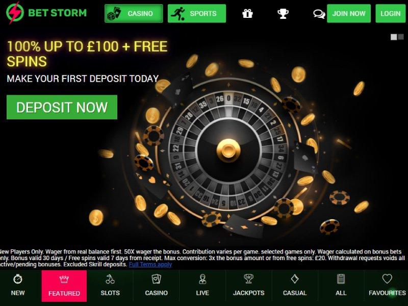 Casino Bet Storm website