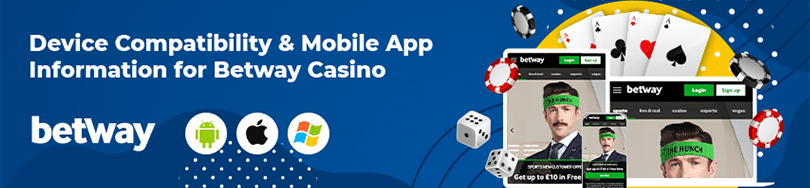 betway casino device compatability