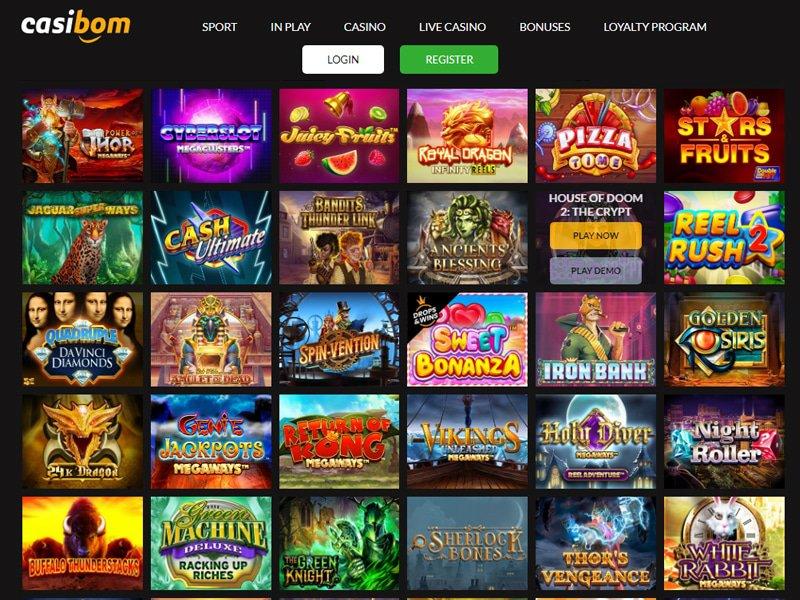 Casino Casibom software