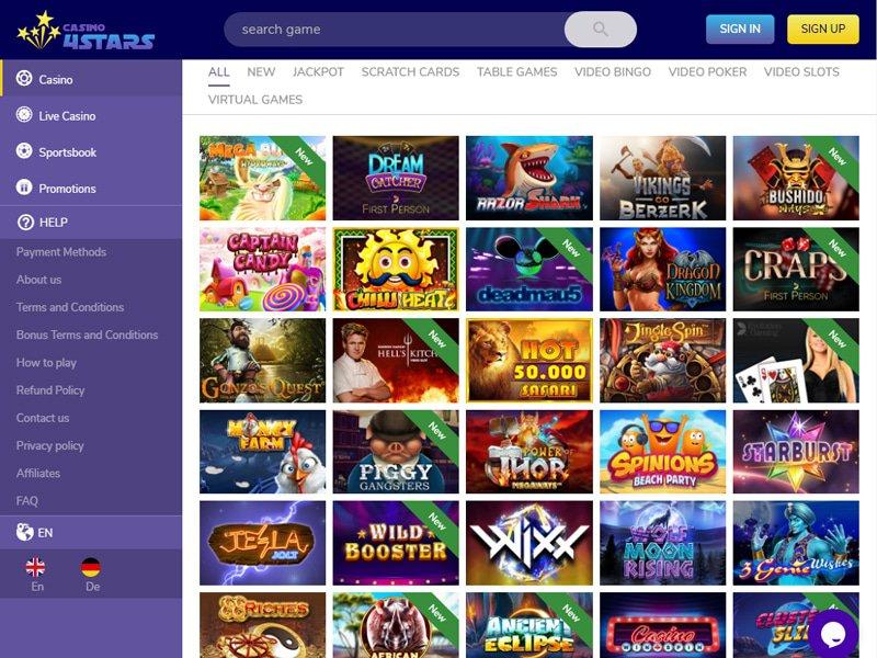 4Star Casino software