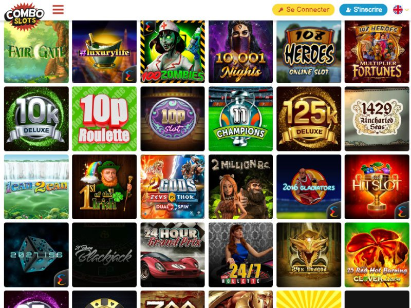 ComboSlots Casino software