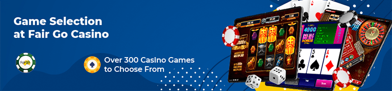 fair go casino game selection