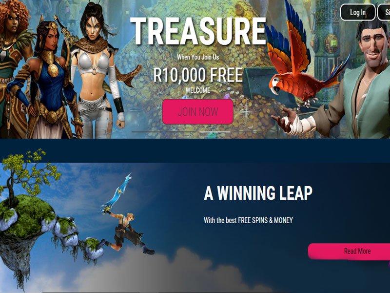 Africangrand Casino website