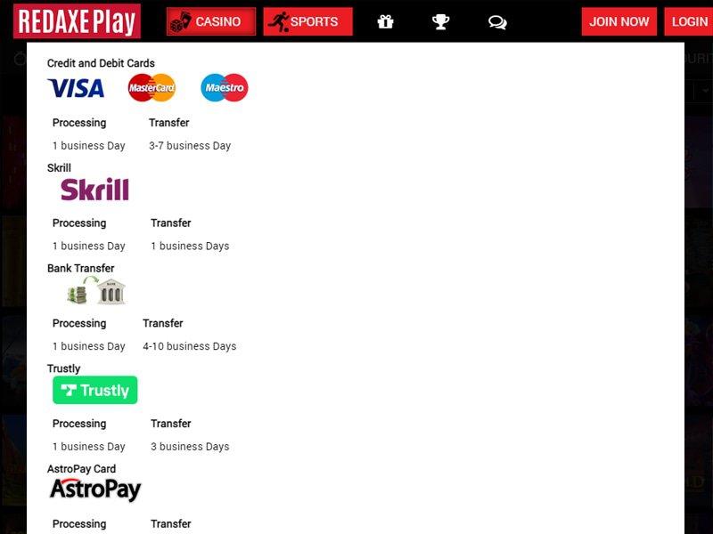 Red Axe Play cashier
