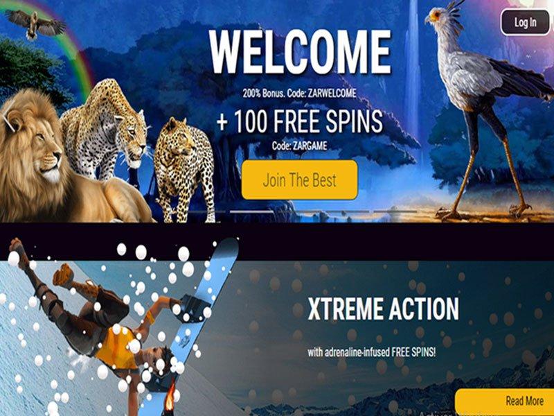 Zar website